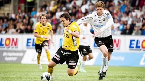 Elfsborg vs Orebro, 23h30 ngày 20/4