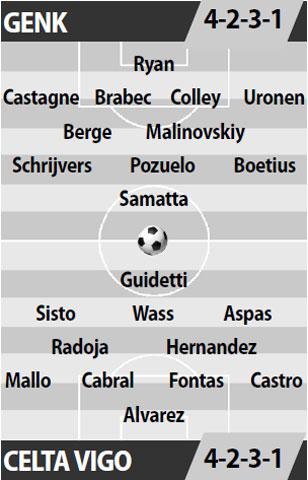 Genk vs Celta Vigo, 02h05 ngày 21/4: Chia tay chủ nhà