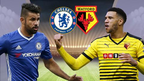 Chelsea vs Watford, 02h00 ngày 16/5: Đại tiệc mừng tân vương