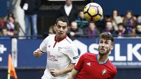 Sevilla vs Osasuna, 02h00 ngày 21/5: Thoải mái cho ngày cuối