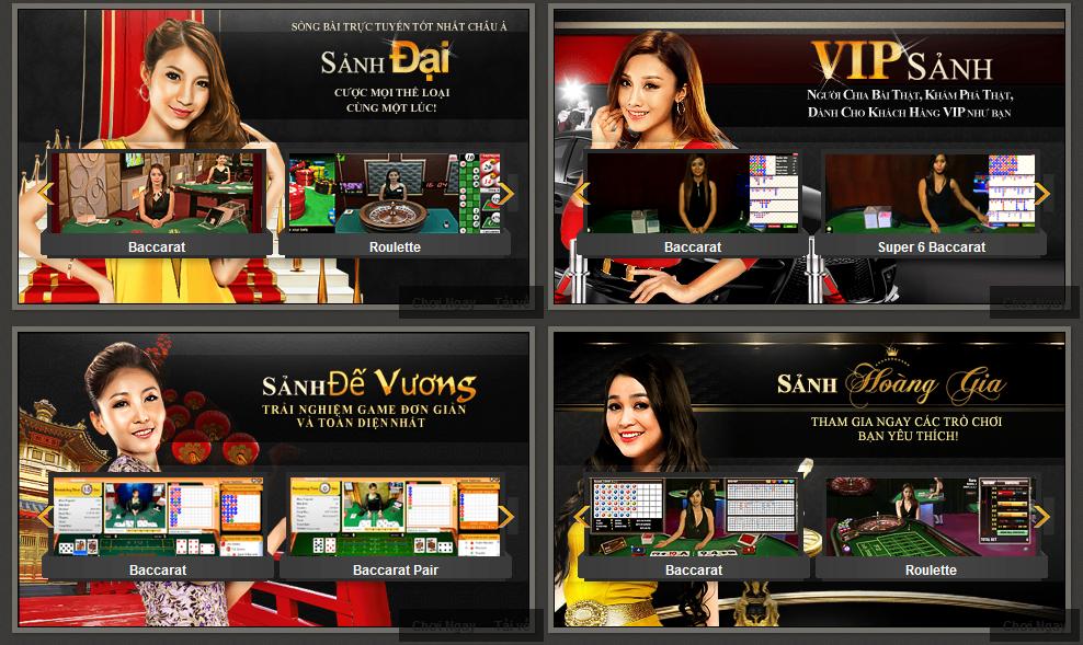 Casino trực tuyến Poker 188Bet có nhân viên chuyên nghiệp chia bài trực tiếp