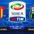 Soi kèo bóng đá Benevento vs Sassuolo 21h00, ngày 19/11 Serie A