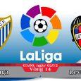 Soi kèo bóng đá Malaga vs Levante 03h00, ngày 02/12 La Liga