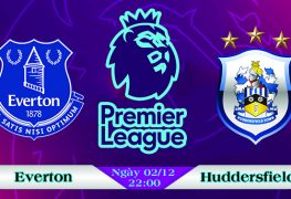 Soi kèo bóng đá Everton vs Huddersfield 22h00, ngày 02/12 Premier League