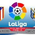 Soi kèo bóng đá Atletico Madrid vs Real Sociedad 22h15, ngày 02/12 La Liga