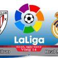 Soi kèo bóng đá Ath Bilbao vs Real Madrid 02h45, ngày 03/12 La Liga