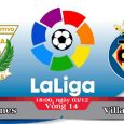 Soi kèo bóng đá Leganes vs Villarreal 18h00, ngày 03/12 La Liga