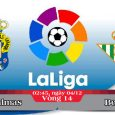 Soi kèo bóng đá Las Palmas vs Betis 02h45, ngày 04/12 La Liga
