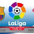 Soi kèo bóng đá Barcelona vs Celta Vigo 19h00, ngày 02/12 La Liga