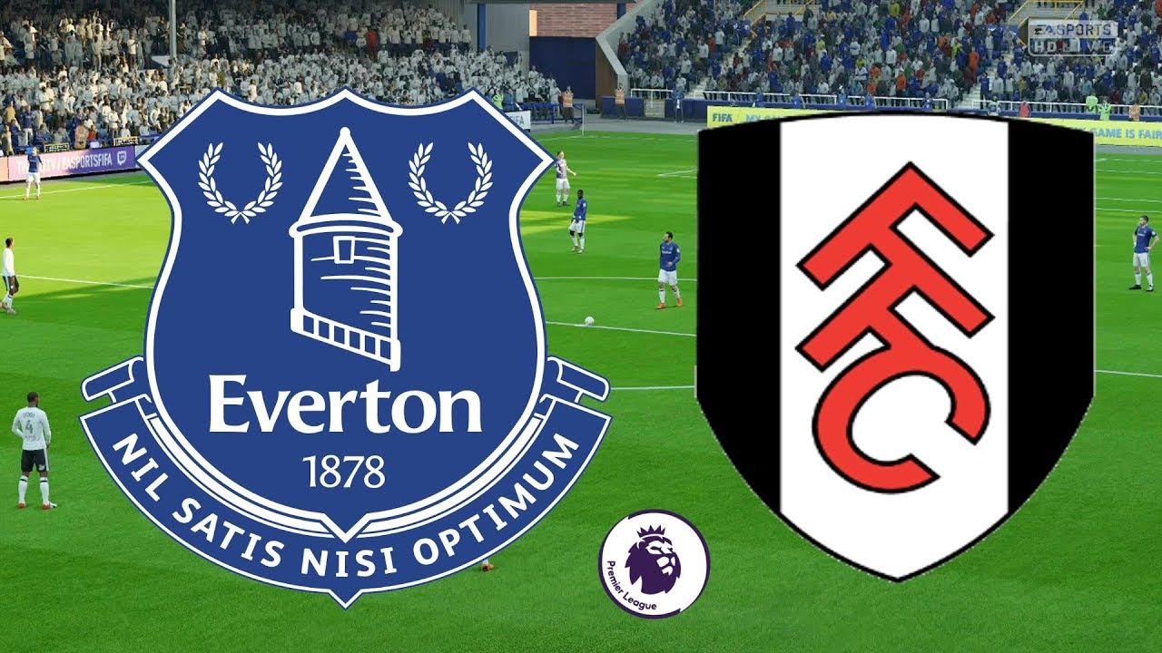 Kết quả hình ảnh cho Fulham vs Everton