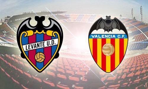 Kết quả hình ảnh cho Valencia vs Levante