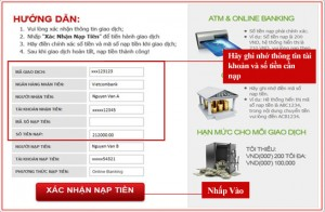 Hướng dẫn cách gửi tiền vào tài khoản cá độ 12Bet qua PAC2PAY